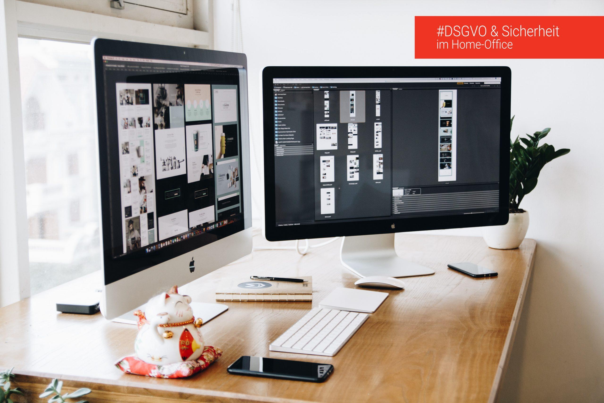 Sicherer Umgang mit Daten im Home-Office